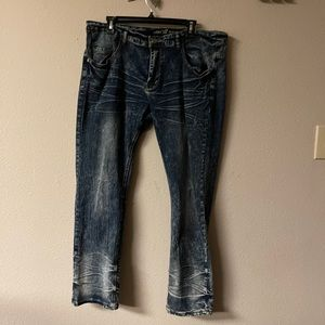 X-Ray jeans - distressed straight leg jeans